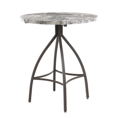 Contemporary Laminate Bar Height Table