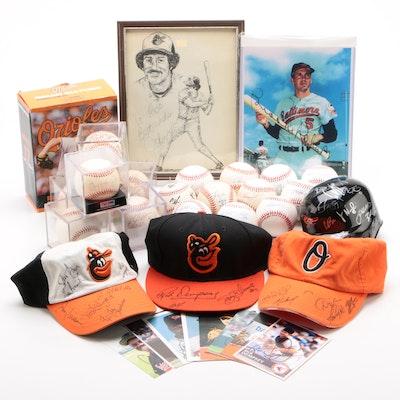 Baltimore Orioles Autograph Collection Including Cal Ripken Jr. Signed Ball, PSA