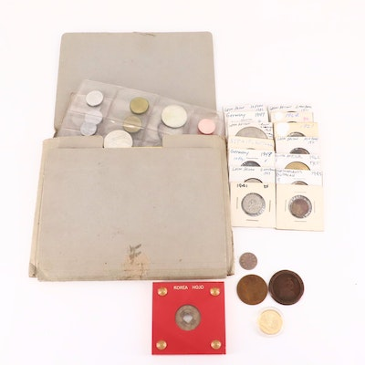 Fifty-Four Foreign Coins