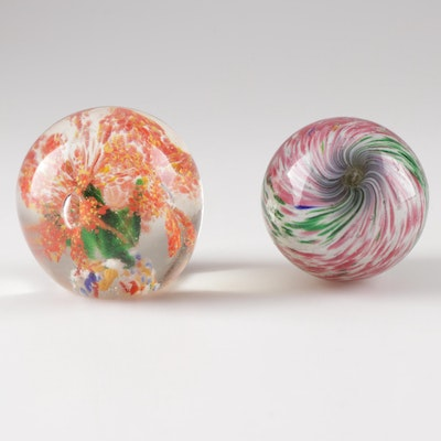 Art Glass Paperweights, Mid 20th Century
