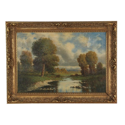 Gregory Hollyer Landscape Oil Painting