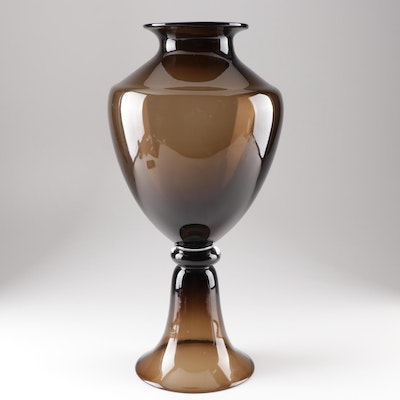 Contemporary Colored Glass Vase