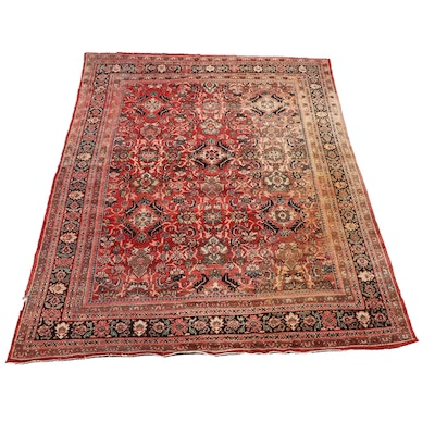 Hand-Knotted Persian-Style Wool Room Sized Rug from Oscar Isberian