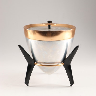 "Mid-Century ""Atomic Bullet"" Ice Bucket"