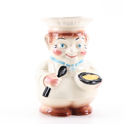 Robinson Ransbottom Pottery Co. Figural Baker Earthenware Cookie Jar