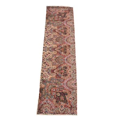 "Machine Made Karastan ""Kirman"" Wool Carpet Runner"