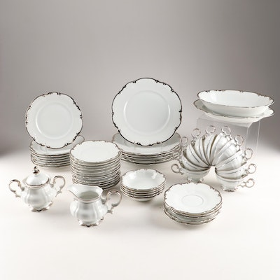 "Hutschenreuther ""Revere"" Porcelain Dinnerware and Serving Pieces"