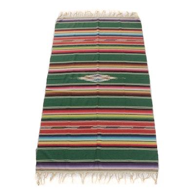 Handwoven American Southwest Blanket, circa 1940