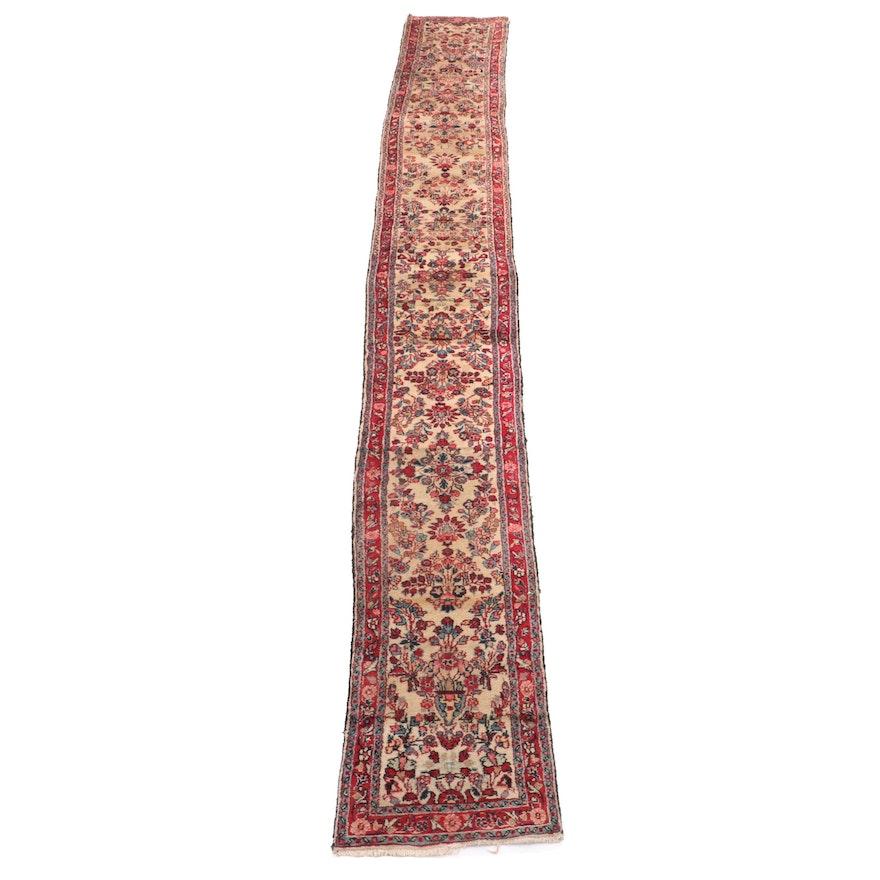 Hand-Knotted Persian Hamadan Stair Runner/Carpet Runner