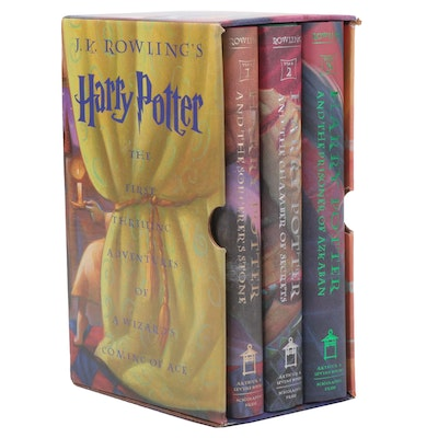 """The Harry Potter Collection"" Books 1-3 by J. K. Rowling"