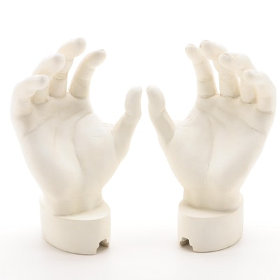 TMS Cast Plaster Hands, Circa 2007