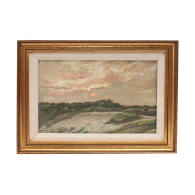 Hamilton Chapman Oil Painting of Landscape
