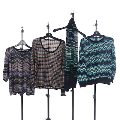 Missoni Knit Sweaters and Scarf