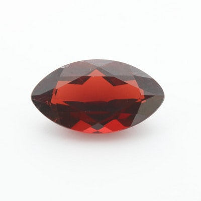 Loose 4.53 CT Garnet Gemstone