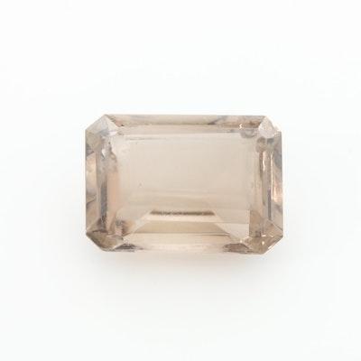 Loose 15.50 CT Smoky Quartz Gemstone