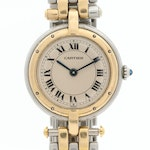 Cartier Panthère Ronde 18K Gold and Stainless Steel Quartz Wristwatch