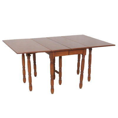 Drop Leaf Dining Room Table with Two Additional Leaves