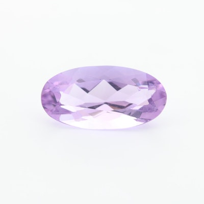 Loose 4.14 CT Amethyst Gemstone