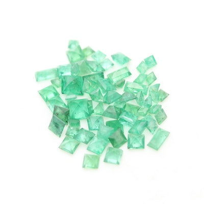 Loose 5.40 CTW Emerald Gemstones