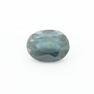 Loose 2.17 CT Blue Sapphire Gemstone