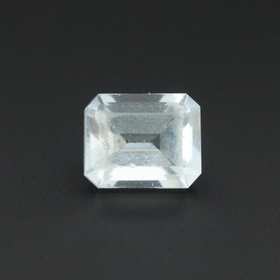 Loose 3.71 CT Aquamarine Gemstone