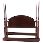 The Bombay Company Mahogany King Size Four Poster Bed Frame