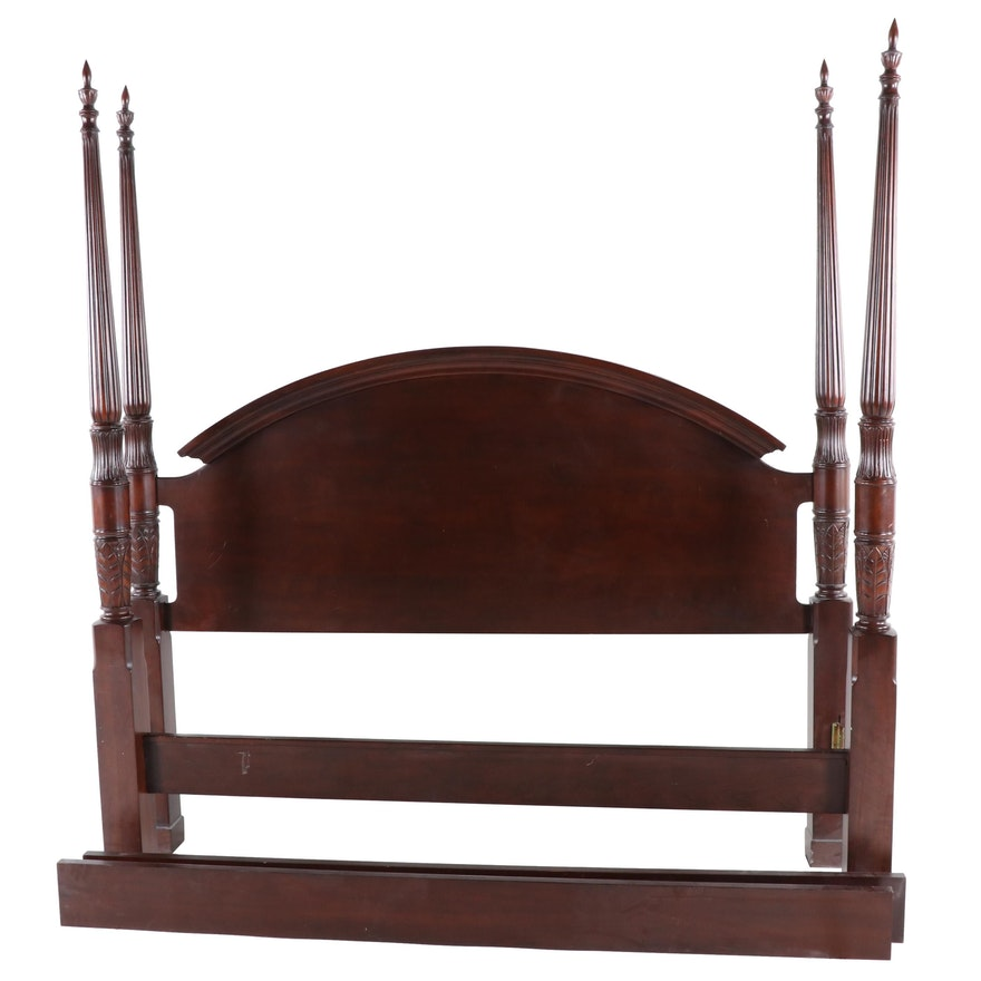 Groovy The Bombay Company Mahogany King Size Four Poster Bed Frame Beatyapartments Chair Design Images Beatyapartmentscom