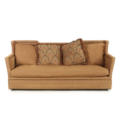 Contemporary Huntington House Down Feather-Filled Upholstered Sofa