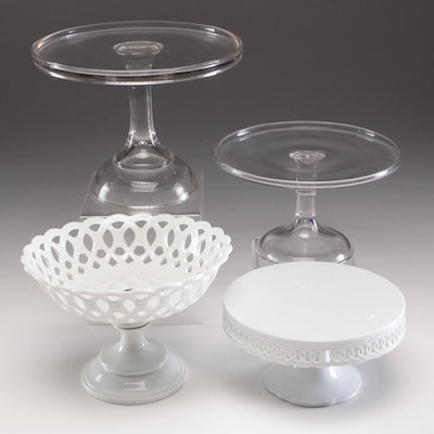 Home Essentials & Beyond Porcelain Cake Plate, Glass Cake Plates, and More