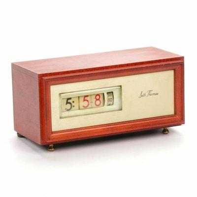 "Seth Thomas ""Speed Read"" Desk Clock, Mid-Century"