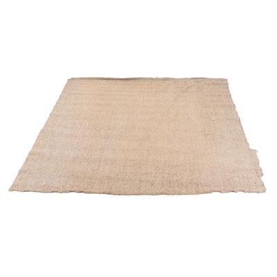Machine Made Neutral Carpet Remnant