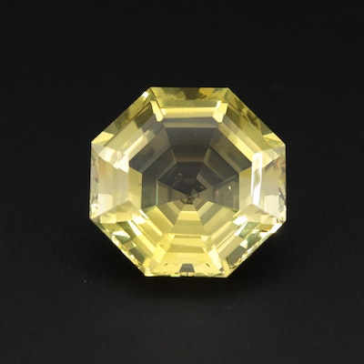Loose 31.24 CT Citrine Gemstone