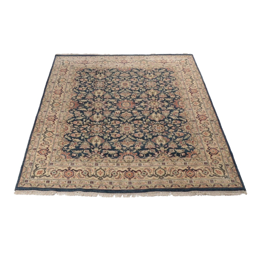 Hand-Knotted Indo-Persian Tabriz Rug