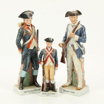 Andrea by Sadek Porcelain Revolutionary War Figurines
