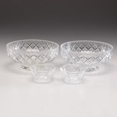 Webb Corbett Crystal Bowls