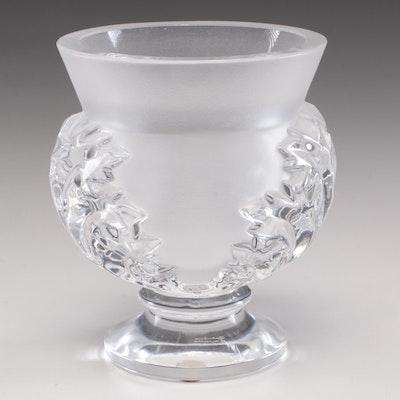 """Lalique Crystal """"St. Cloud"""" Pedestal Bowl"""