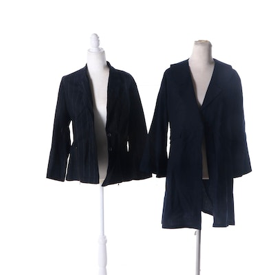 Palma and Lilith Wool Blend Blazer and Jacket
