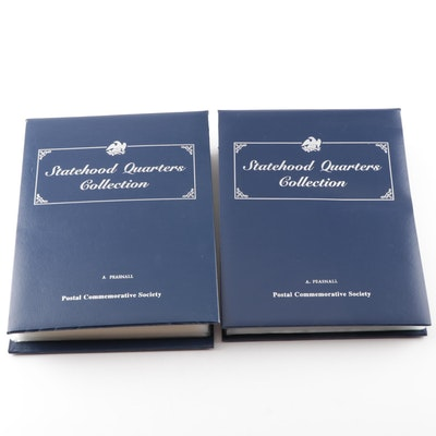 "Postal Commemorative Society ""Statehood Quarters Collection"" Volumes I and II"