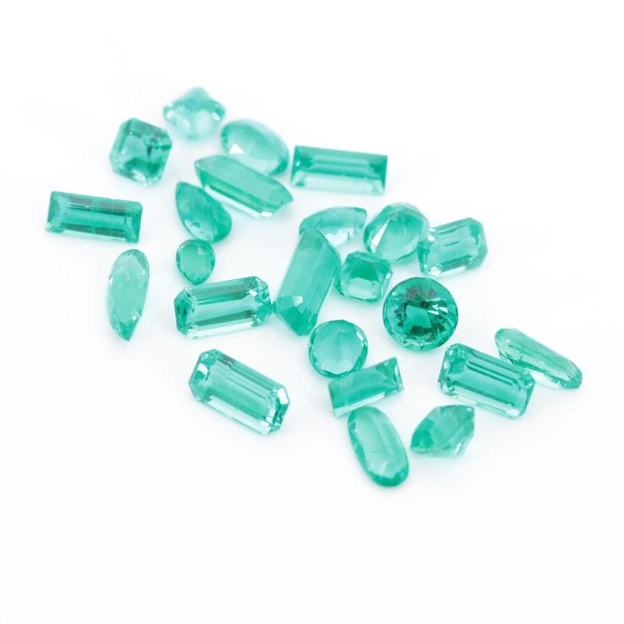 Loose 11.99 CTW Emerald Gemstones