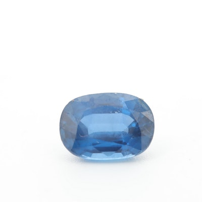 Loose 2.62 CT Blue Sapphire Gemstone