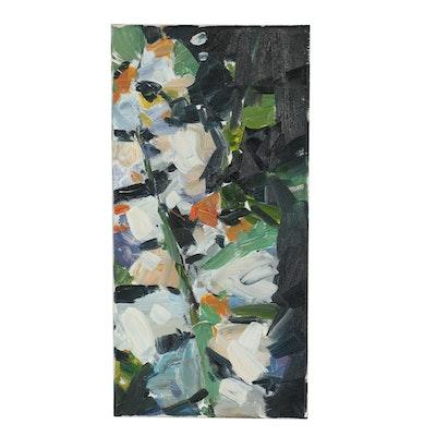 "Jose Trujillo Oil Painting ""Fresh Spring"""