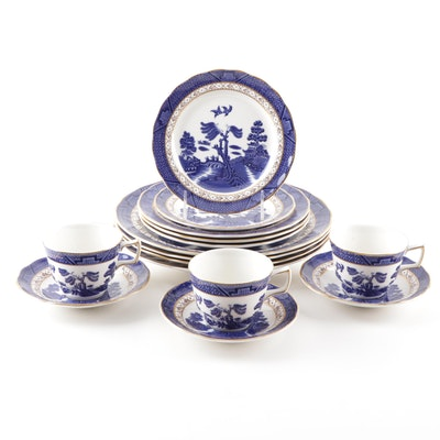 "Royal Doulton The Majestic Collection Booths ""Real Old Willow"" Tableware"