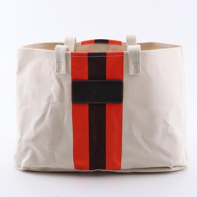 John Hardy Canvas Tote Bag