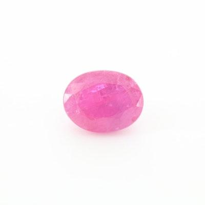 Loose 1.50 CT Corundum Gemstone