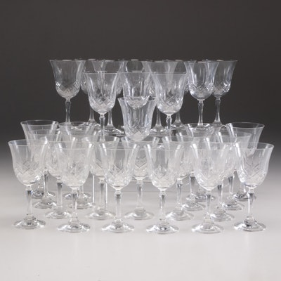 Crystal Stemware Set