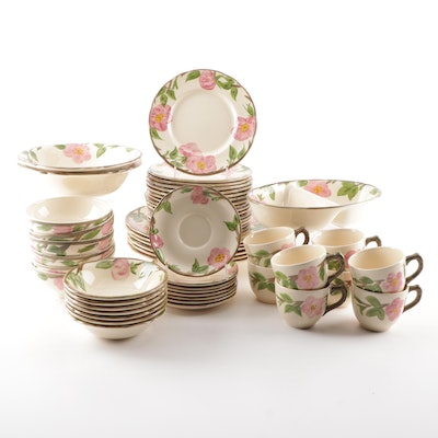 "Franciscan ""Desert Rose"" English Dinnerware, Late 20th Century"