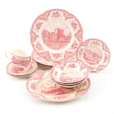 "Johnson Bros. ""Old Britain Castles"" Ironstone Transferware Dinnerware"