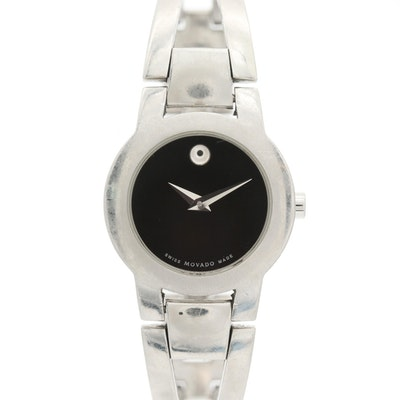Movado Amorosa Stainless Steel Wristwatch