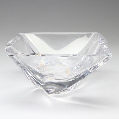 Kosta Boda Crystal Square Bowl