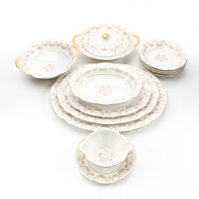 "American Théodore Haviland ""Hamilton"" Porcelain Dinnerware, 1937–1956"